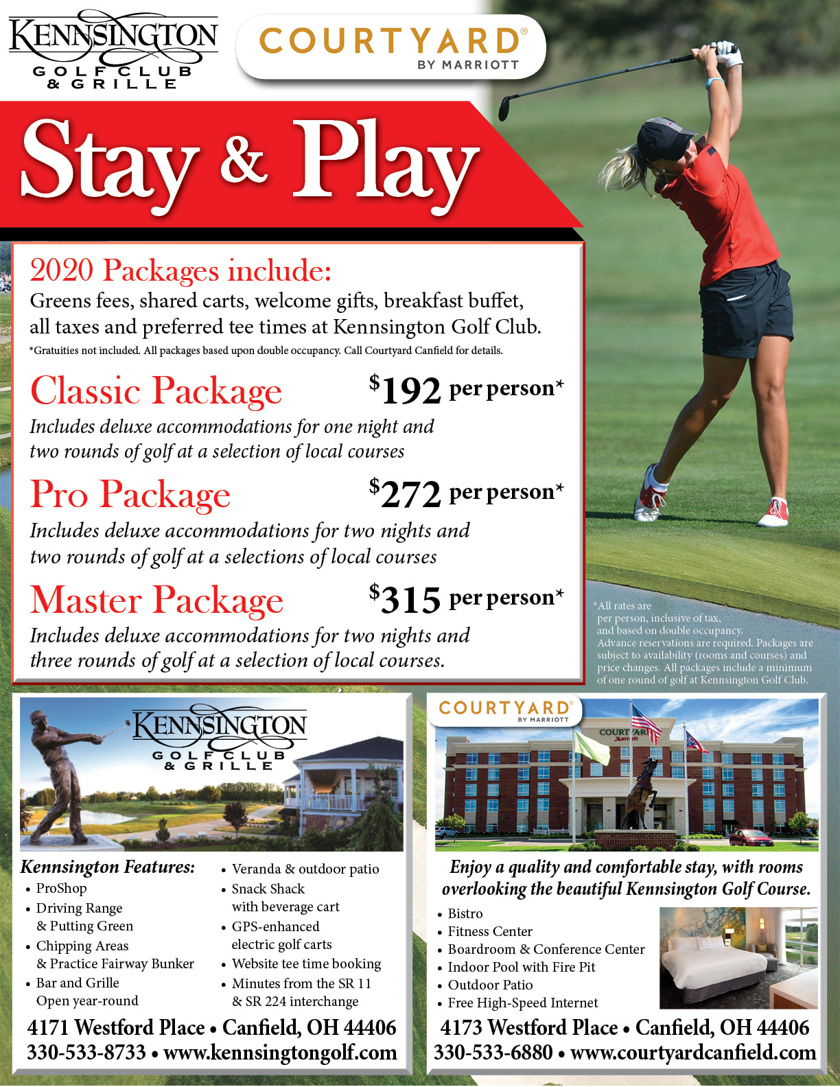 2020 Stay and Play Packages